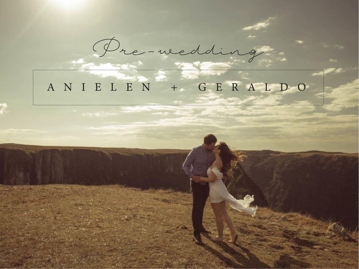 Imagem capa - Pre-wedding Any&Geraldo por KLEBER DE ABREU