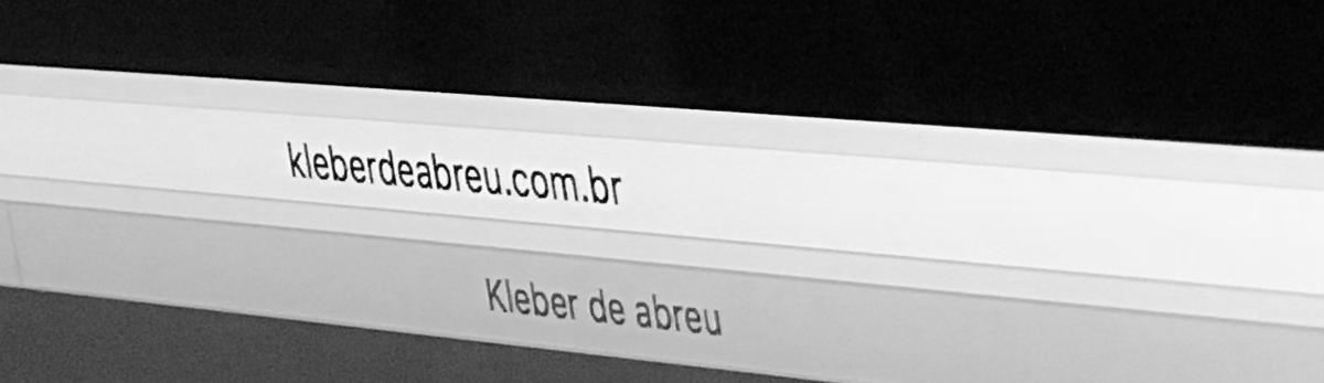 Imagem capa - BEM-VINDOS AO NOSSO NOVO SITE por KLEBER DE ABREU