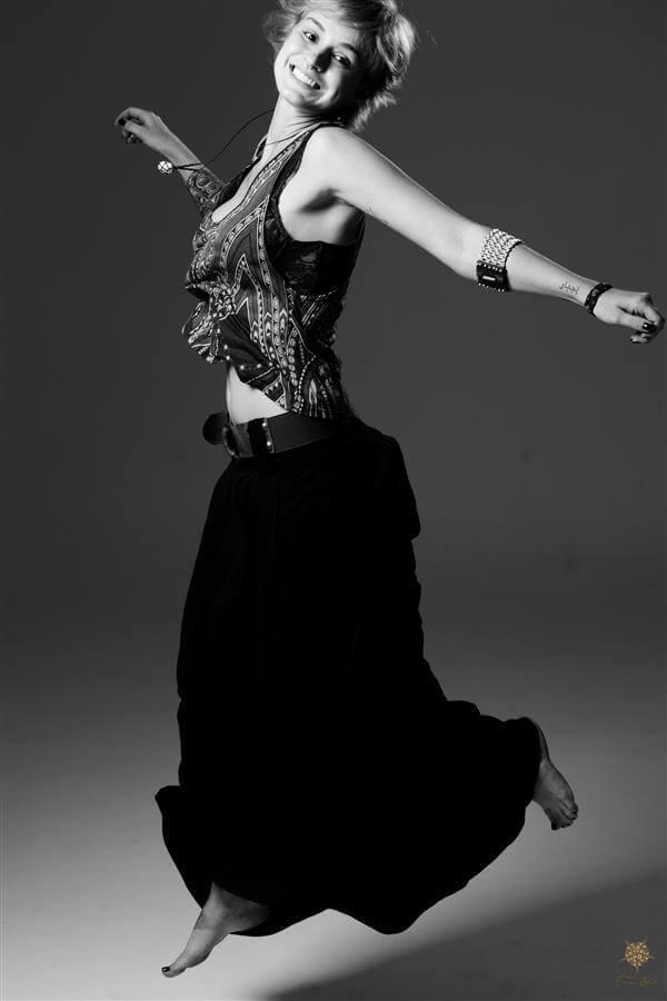 Ensaio de movimento fotografado por Érica Dias.