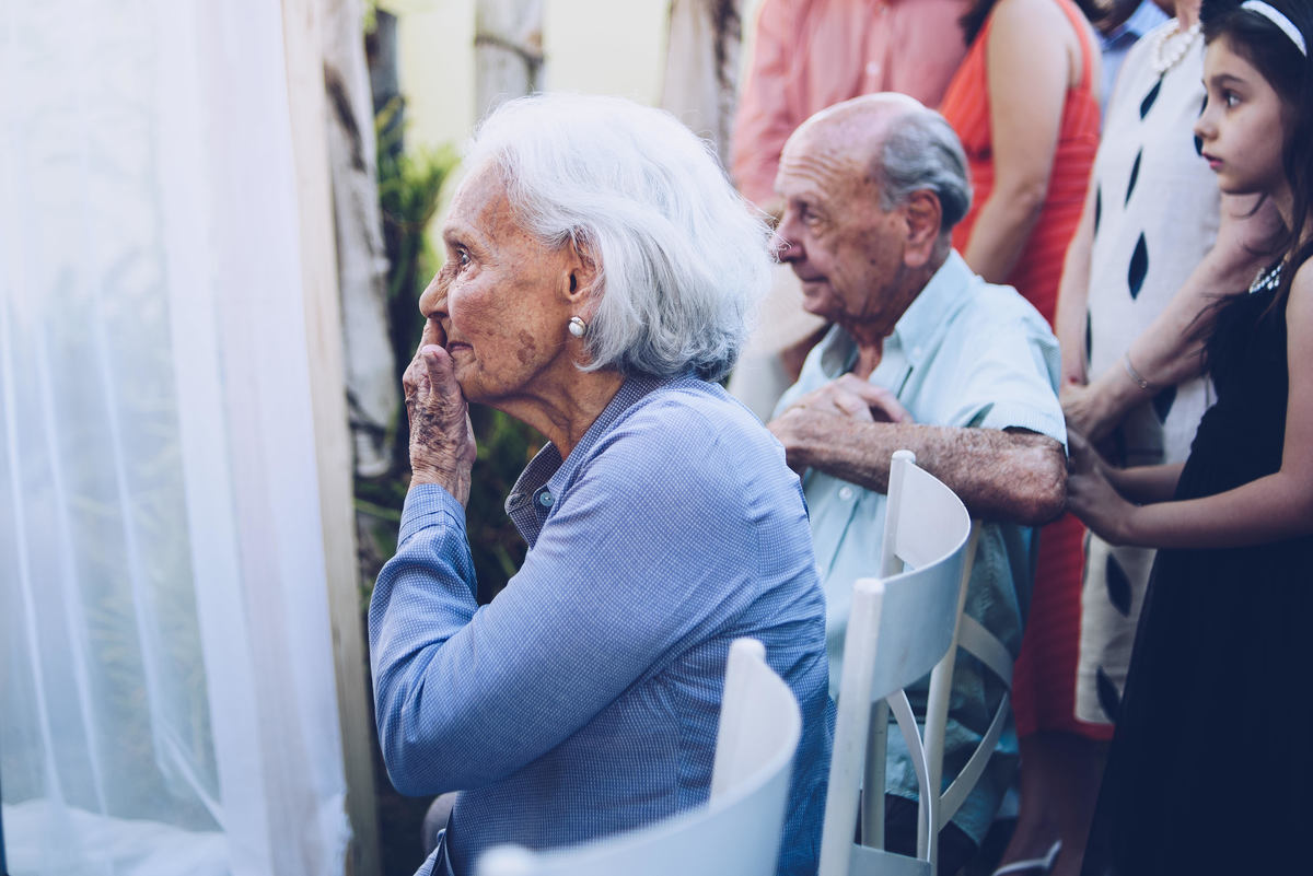 Teve avós emocionados? Teve!
