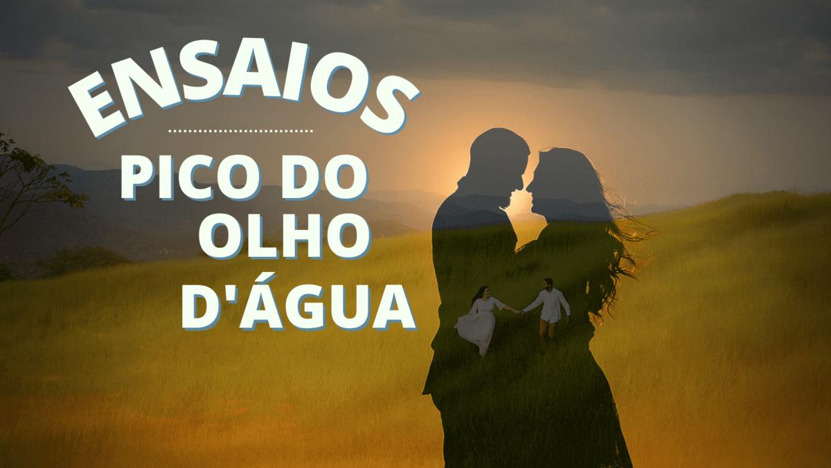 Imagem capa - Ensaios Pico do Olho d'água por Photolima Fotografia de Casamento