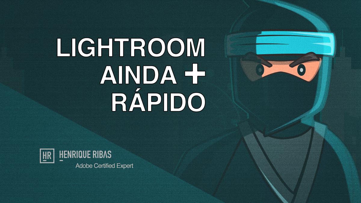 Imagem capa - Mais uma simples dica que irá deixar o seu Lightroom mais rápido! por Henrique Ribas Viana de Carvalho