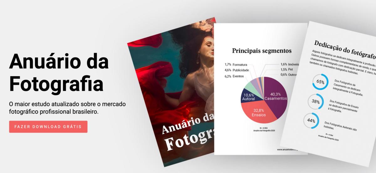 Imagem capa - Anuário da Fotografia - O Mercado em Números Reais por Henrique Ribas Viana de Carvalho