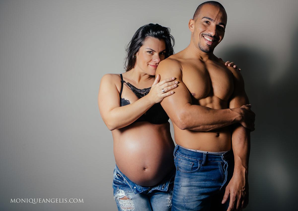 Imagem capa - Ensaio Gestante | Rose + Tchugo por Monique Angelis - Fotógrafa de Casamentos