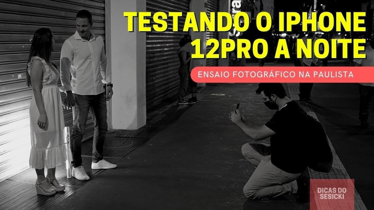 Imagem capa - Ensaio Fotográfico de Casal Noturno com celular por Renan Sesicki Alves