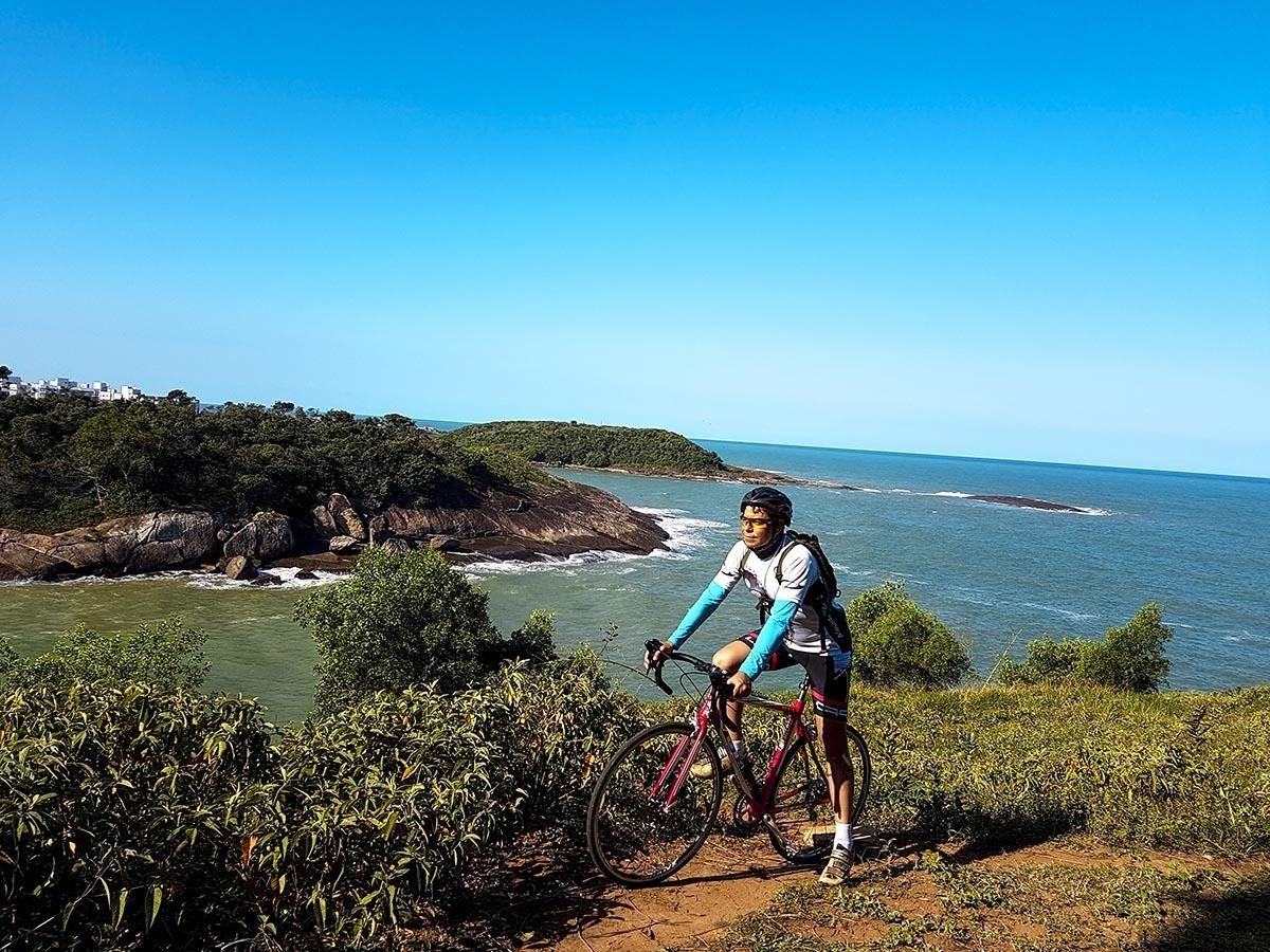 Imagem capa - Documentário Ida e Volta de bicicleta no trecho Caratinga-MG a Guarapari-ES por Renato Ferraz