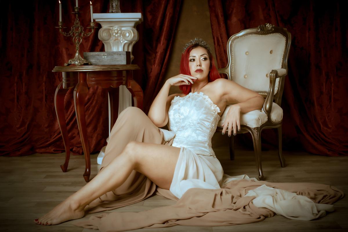 Imagem capa - Ensaio fotográfico de época / Renascentista - Vânia por Roberta Guido