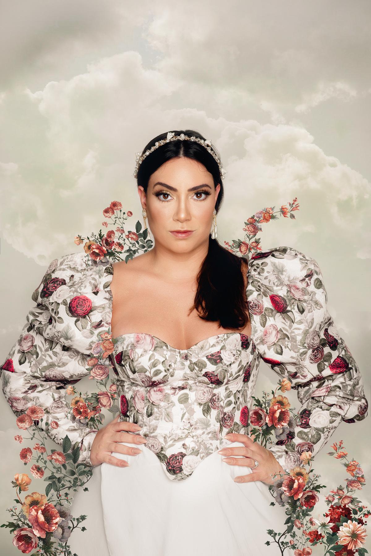 Imagem capa - Editorial Fashion Fine Art - Mariana Castro por Roberta Guido