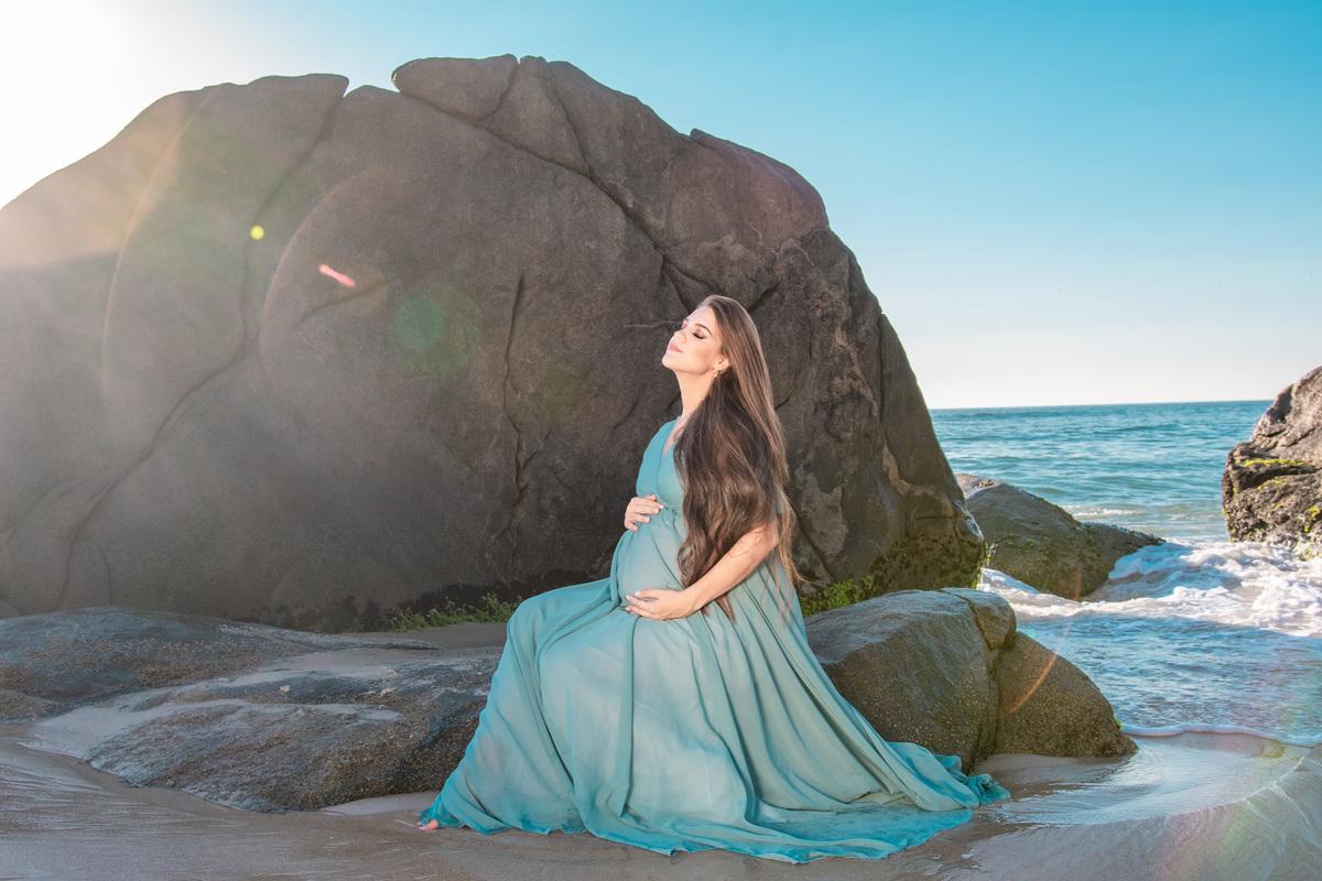 Imagem capa - Dicas para ensaio gestante na praia! por Roberta Guido