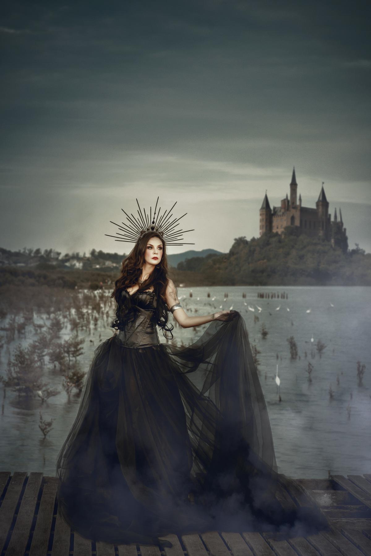 Imagem capa - Ensaio fotográfico artístico - Danielle Cesar por Roberta Guido
