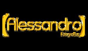 Logotipo de Alessandro fotografias