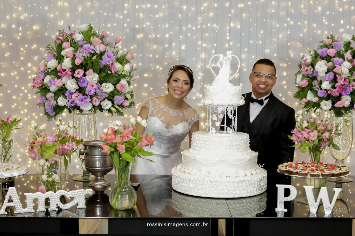 fotografia de casamento, mesa do bolo