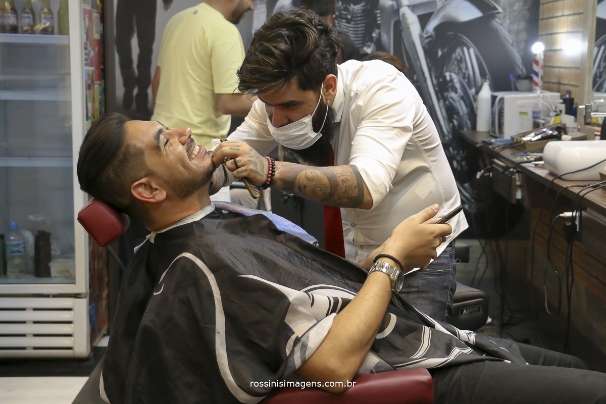 making of do noivo na barbearia lp barbershop