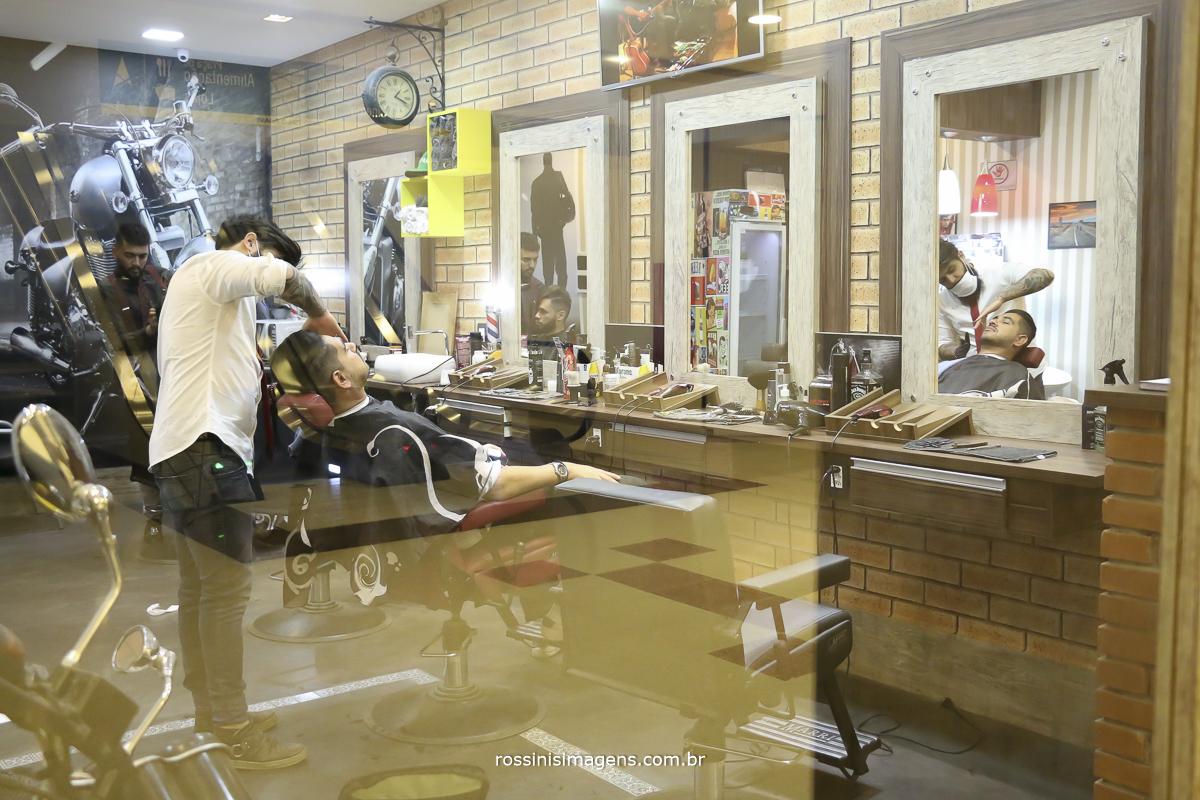 noivo na barbearia lp barbershop