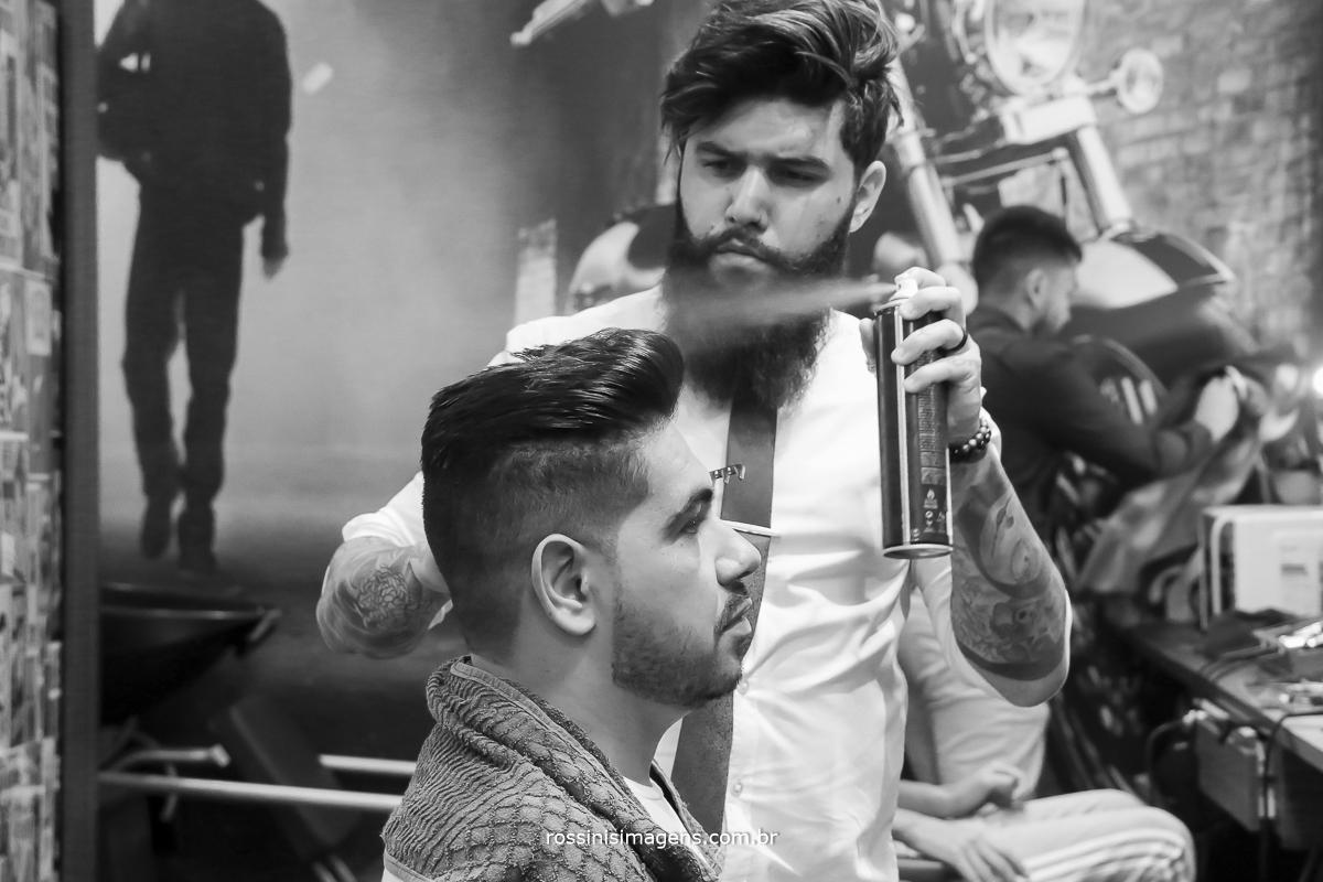 barbearia lp cuidando do noivo para o grande dia