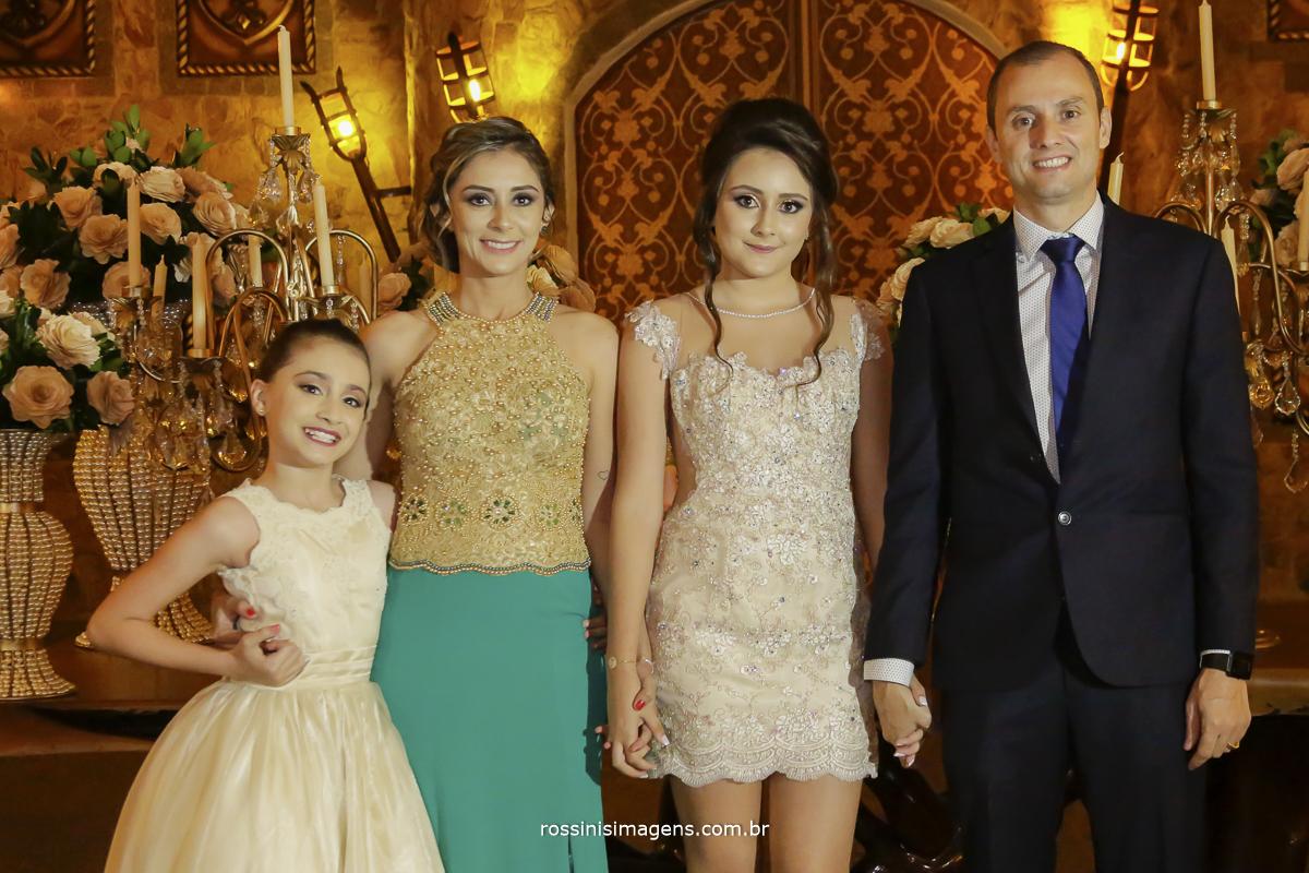 fotografia de festa de 15 anos, família valencio no monte castelo eventos por rossinis imagens