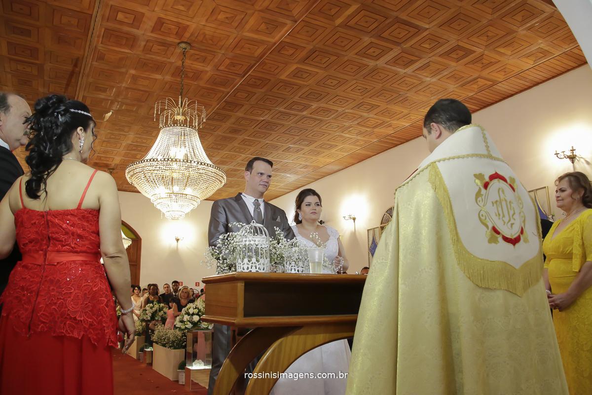 fotografia da cerimonia de casamento Rafaela e Romulo