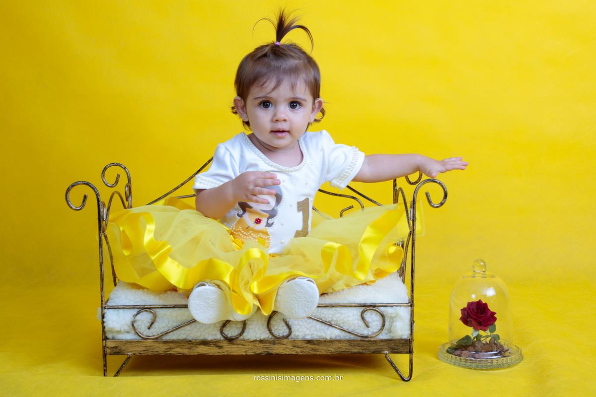 estúdio de fotografia infantil ensaio bela e a fera anna julia