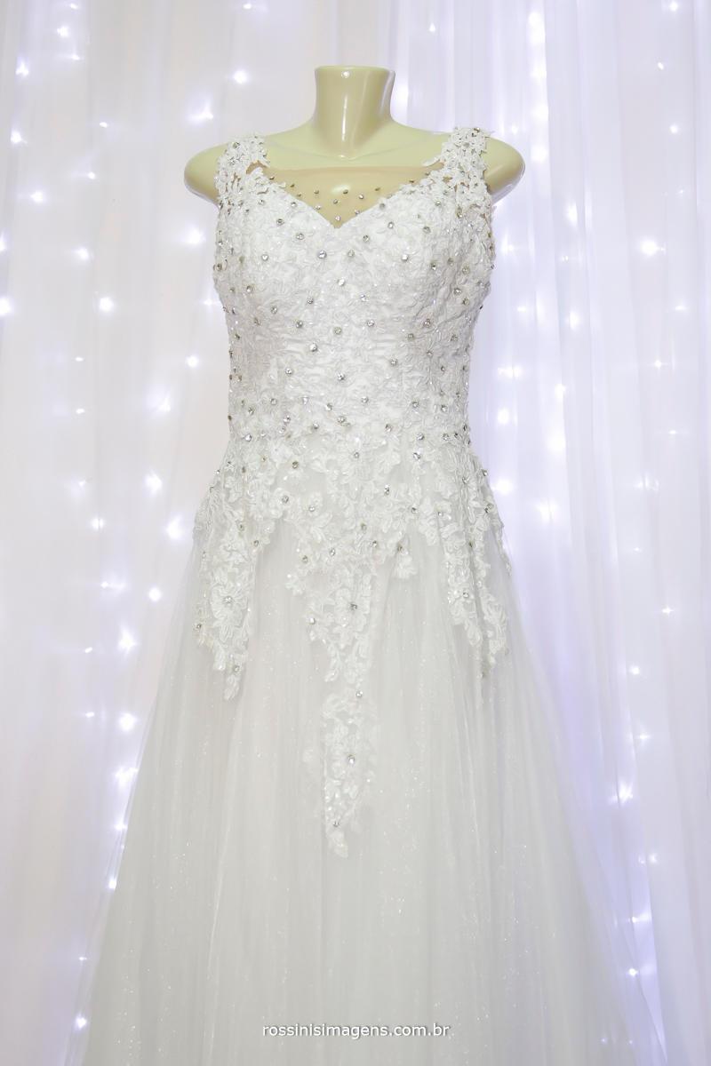 modelo de vestido branco para noiva