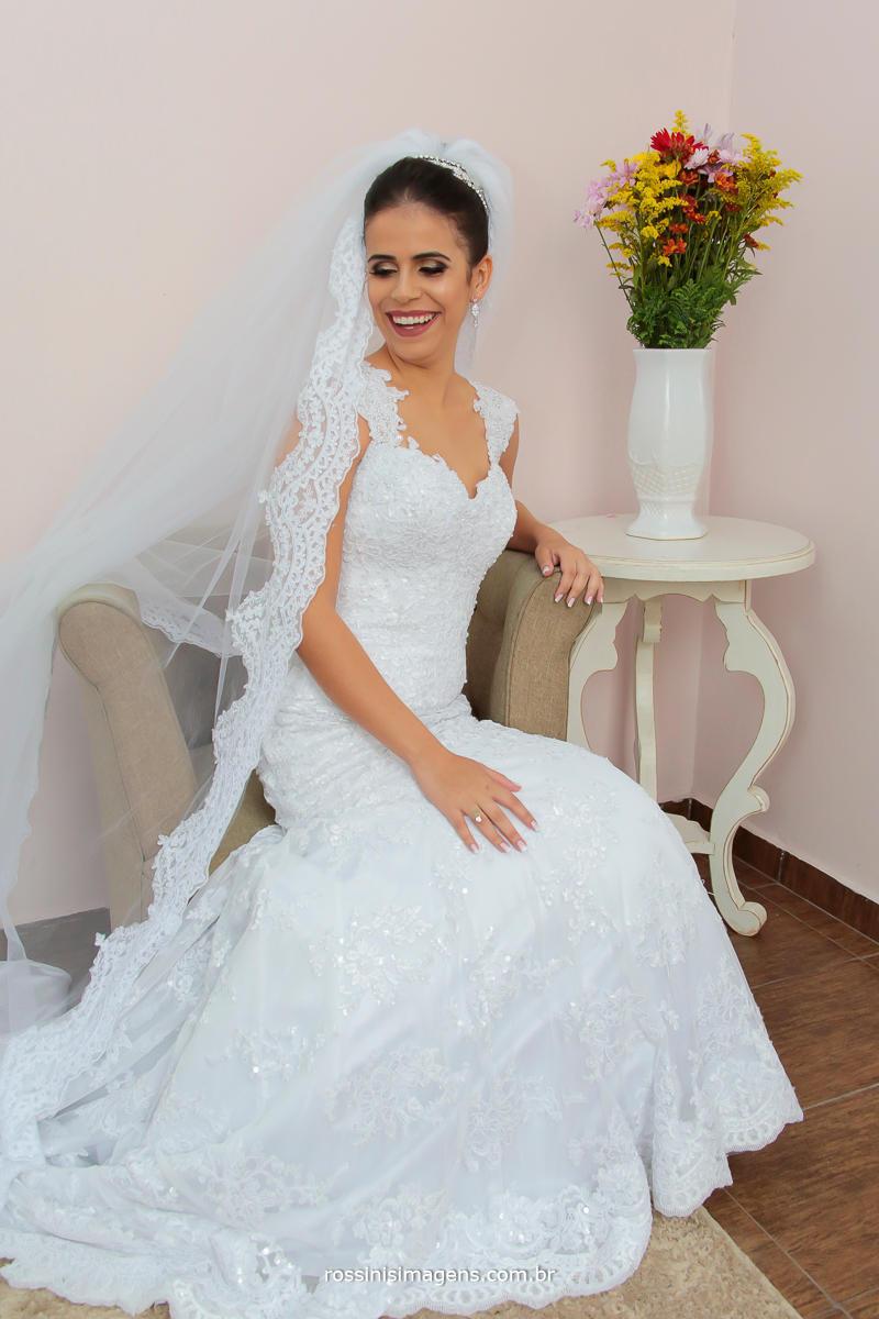 dia lindo de sol noiva feliz casamento fantástico, inspiração para as noivinhas