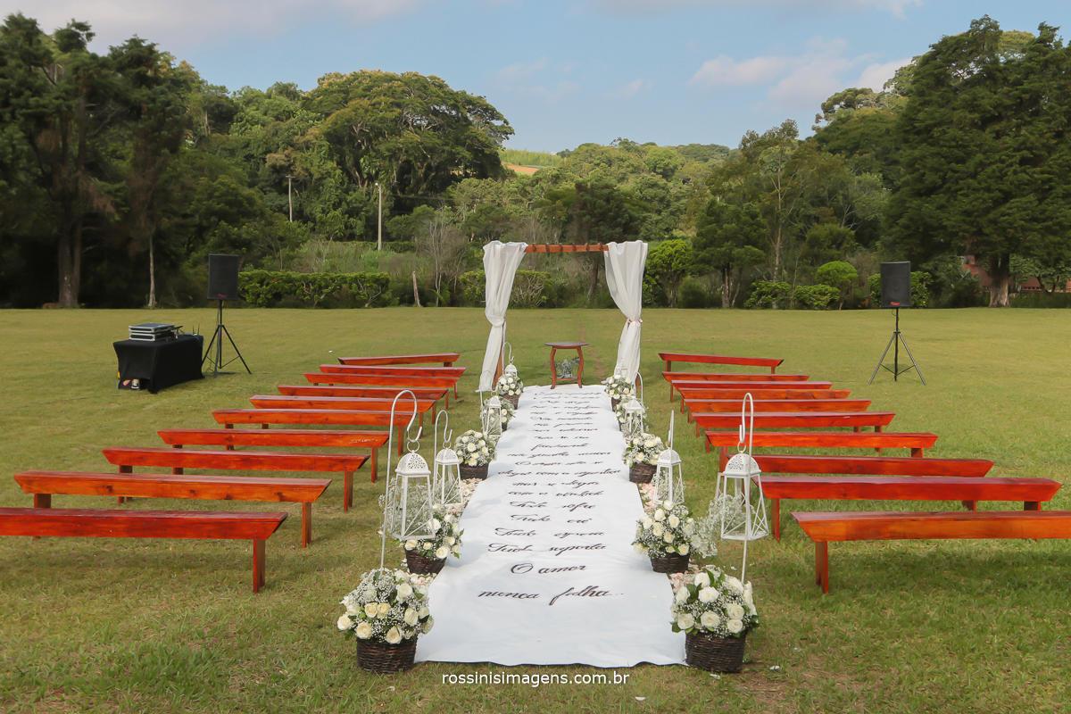 casamento no campo, casamento em suzano, fotografia de casamento cerimonia de casamento e decoração chácara Gyotoku