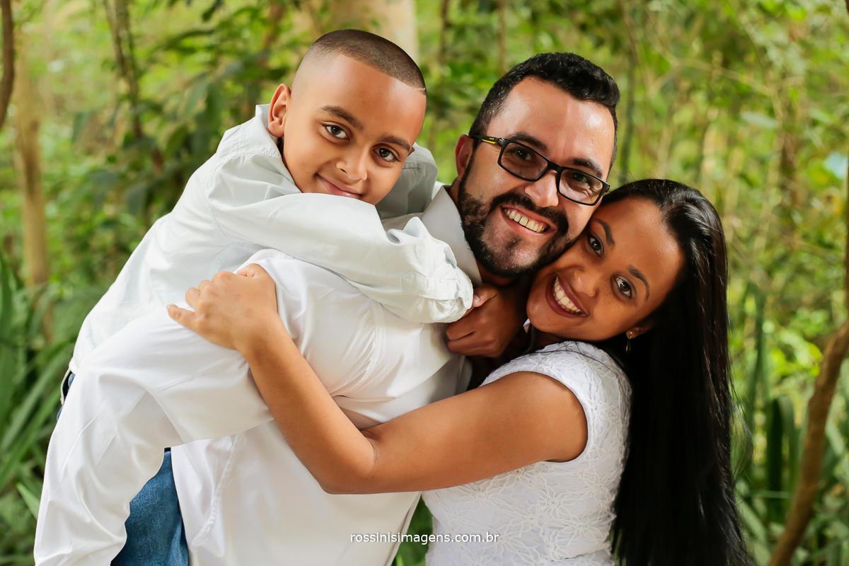 fotografia de familia em ensaio no parque
