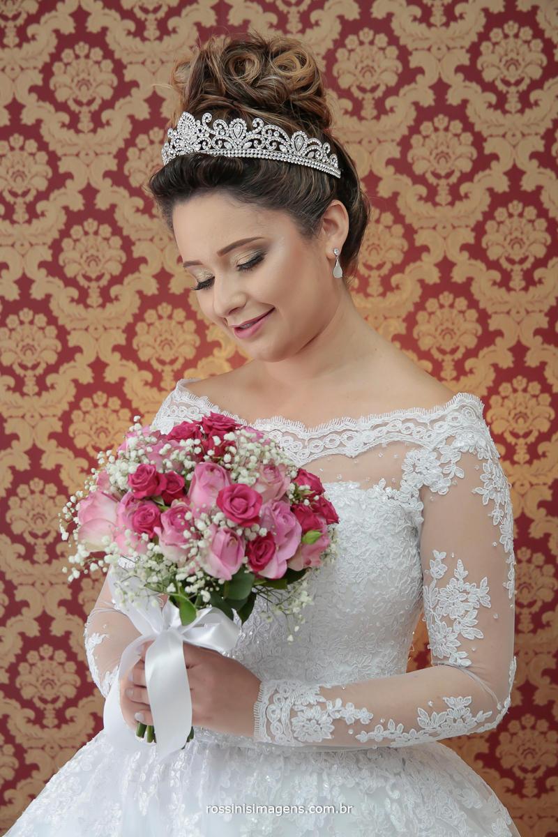 noiva feliz, fotografo de casamento, vidoe de casamento, fotografia de noiva, vestido de noiva, Rossini's Imagens