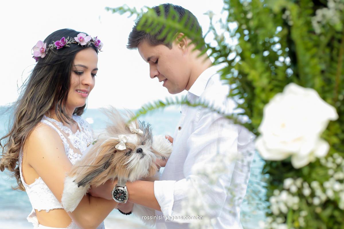 fotografia de casamento, Filmagem de Casamento, Wedding Day, beach wedding, Pet, Rossini's Imagens, Foto e video em Ilhabela