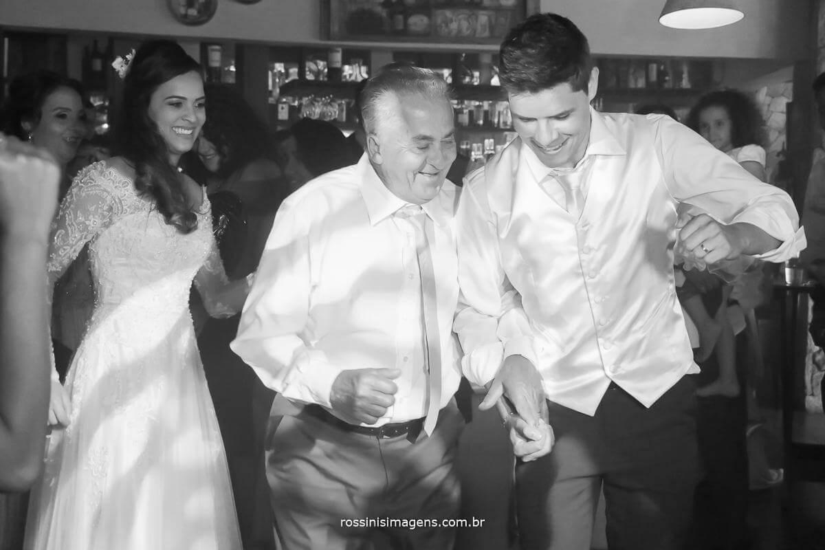 fotografia de casamento balada, noivo na pista de dança, Rossinis imagens fotografia e video de casamento