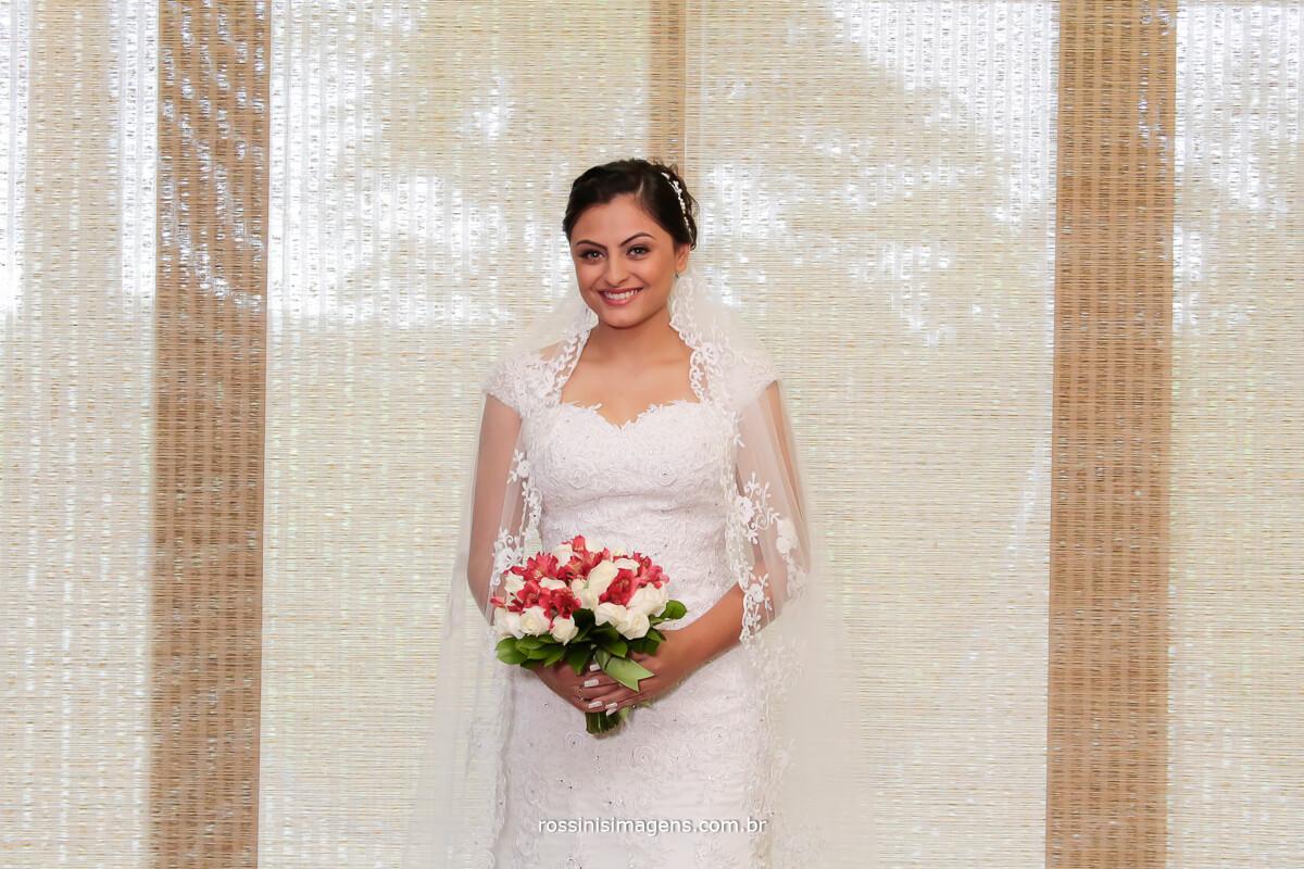 incrível fotografia da noiva gloria no grande dia, casamento inicio da união
