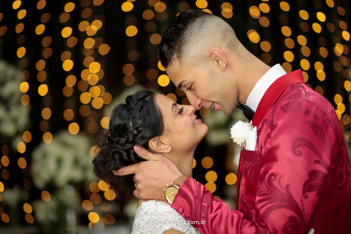 uma linda recordação do casamento uma fotografia do casal onde passa diversos sentimento muita emoção e muito profissionalismo da rossinis imagens fotografia e filmagem de casamento Gloria e Daniel