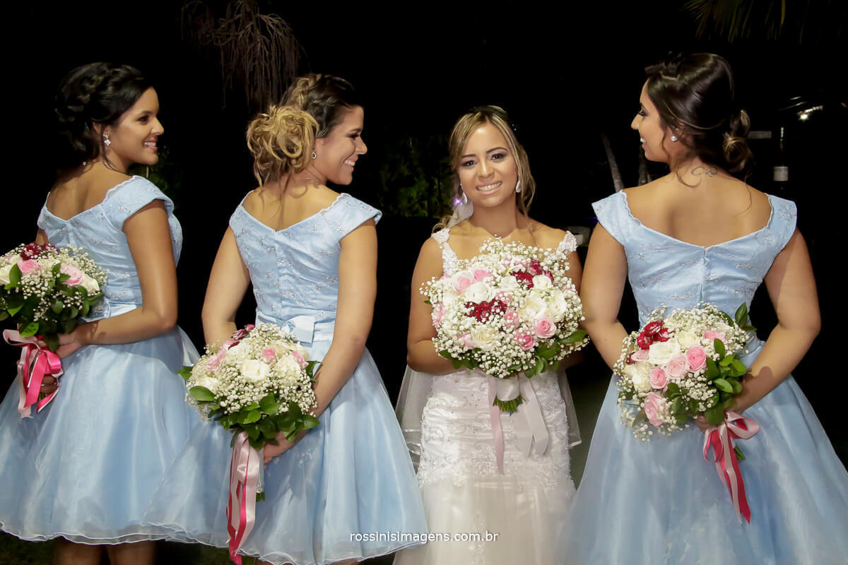 fotografia de casamento damas e a noiva na sessão de fotos wedding, bride,