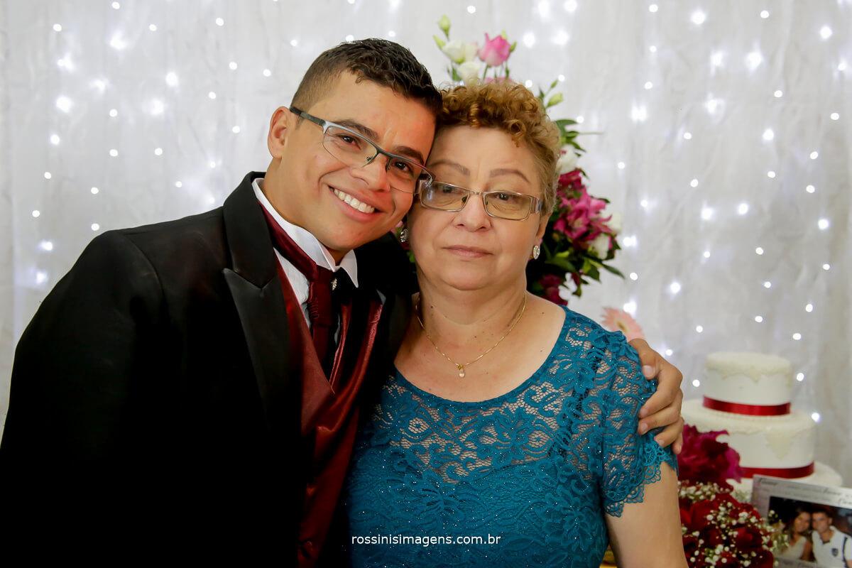 fotografia de casamento noivo e sua mãe, dia das maes, fotografia de casamento rossinis imagens foto e video