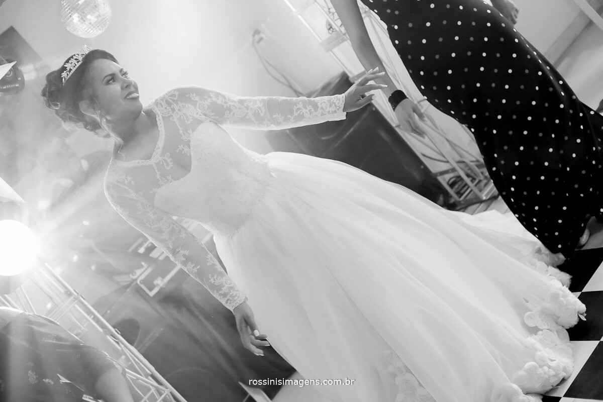 balada pista de dança noiva