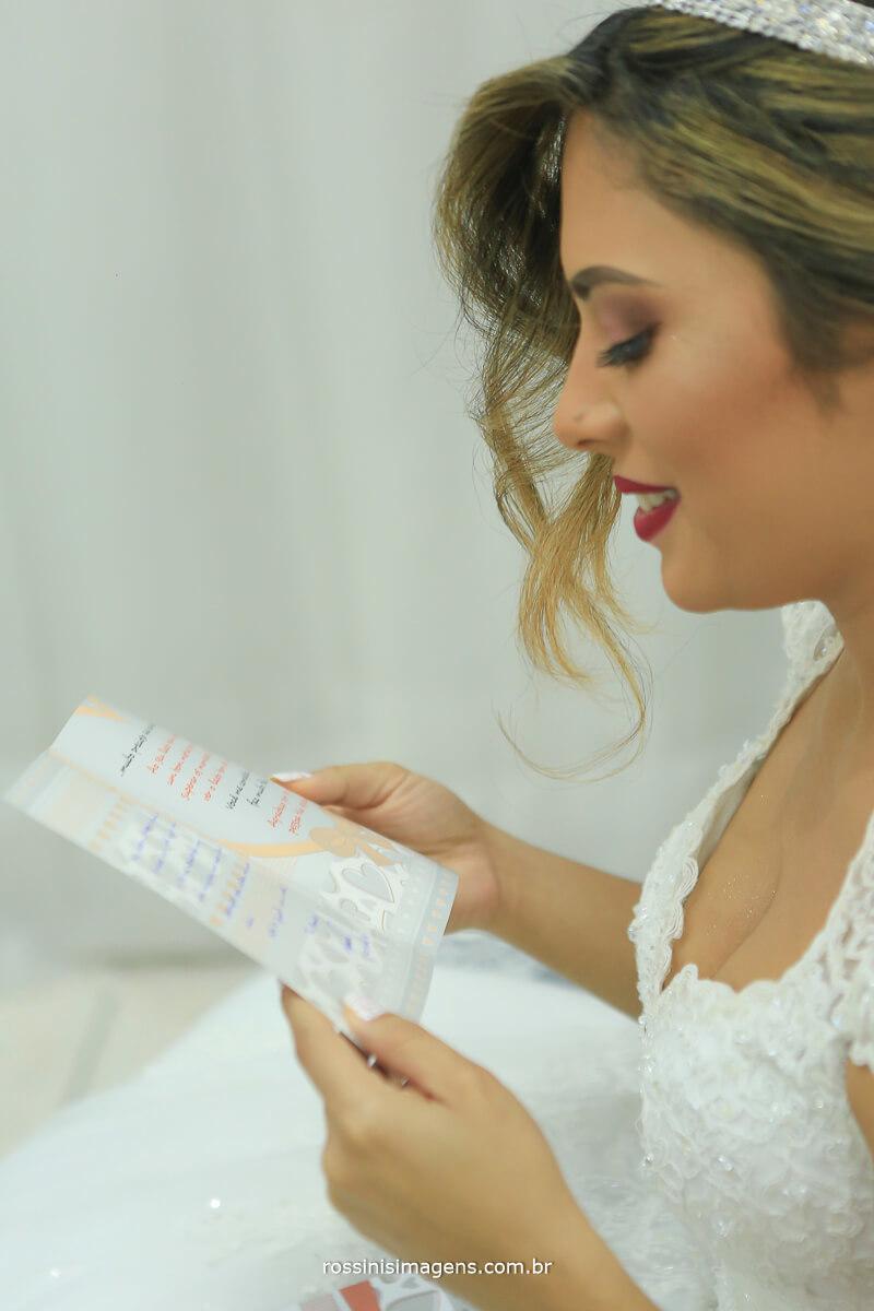 cartinha do noivo para a noiva no dia da noiva