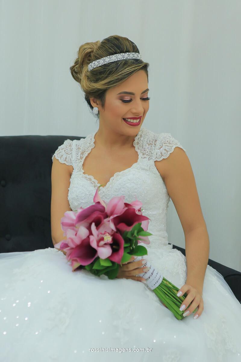 noiva no making of em salão de beleza o melhor da região gisele grenza hair studio