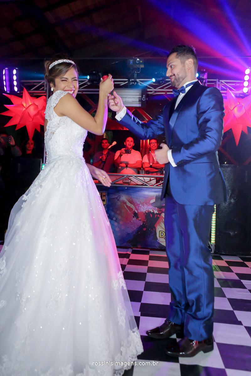 dança dos noivos, pista de dança