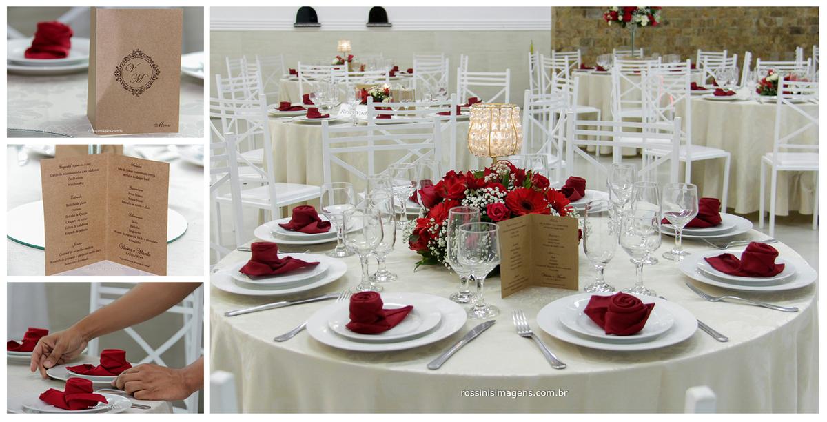 decoração das mesas dos convidados, buffet Rose Festas, Chácara Torres, Rossinis Imagens