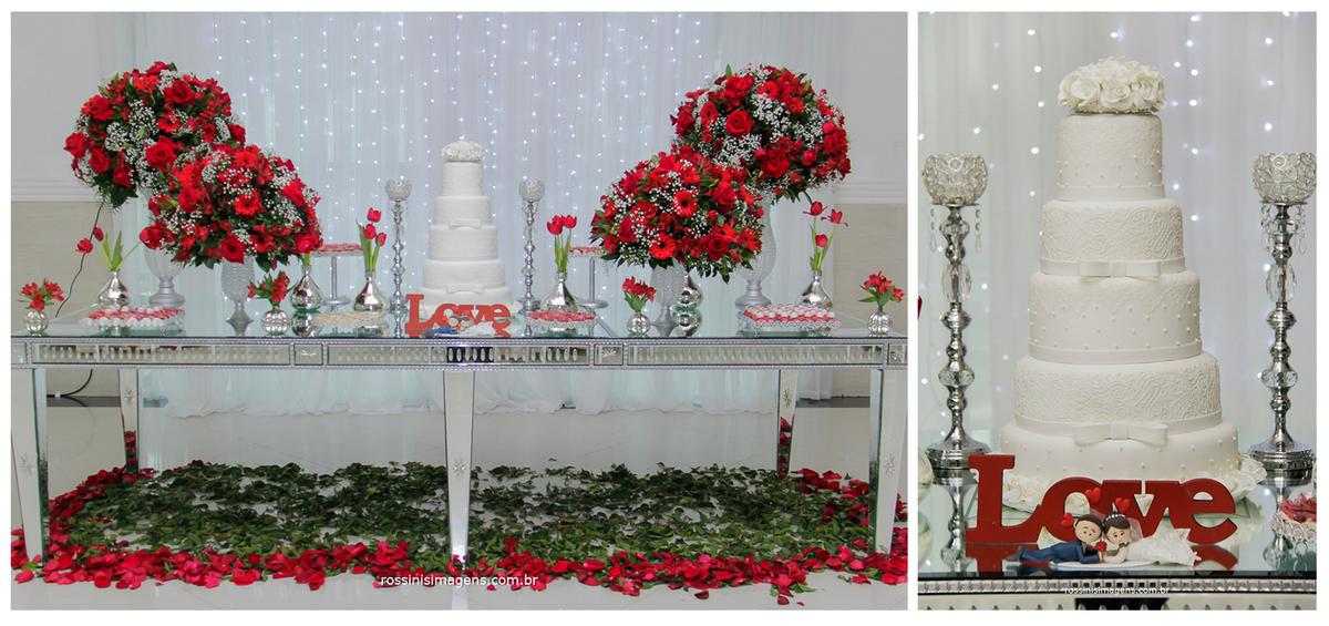 fotografia de casamento, decoração da mesa do bolo por neide decorações na chácara torres, seu casamento em excelentes mãos, mesa do bolo, bolo, topo do bolo,