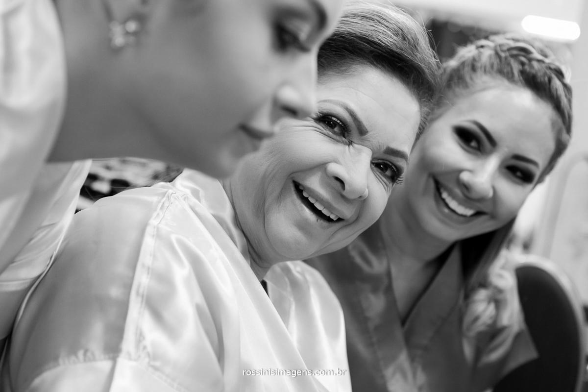 família juntas no making of, dia da noiva, suzano