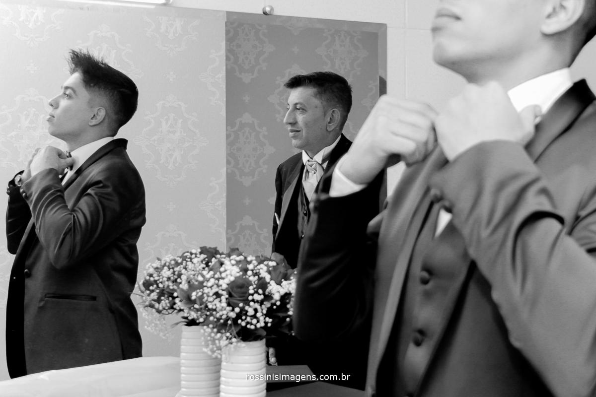 dia do noivo, making of do noivo, pai e filho