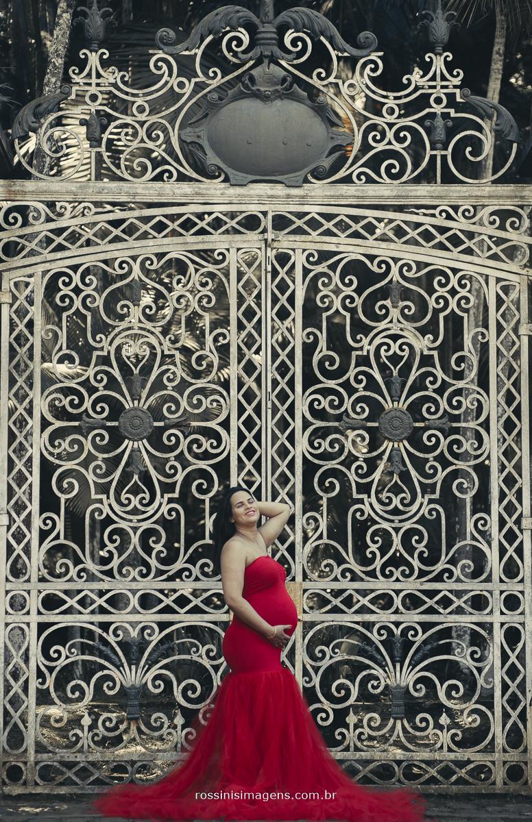 ensaio gestante, gravidiva, gestante, maternidade, rossinis imagens, fotografia, vestido vermelho, glamour, luxo,  fotografo de familia