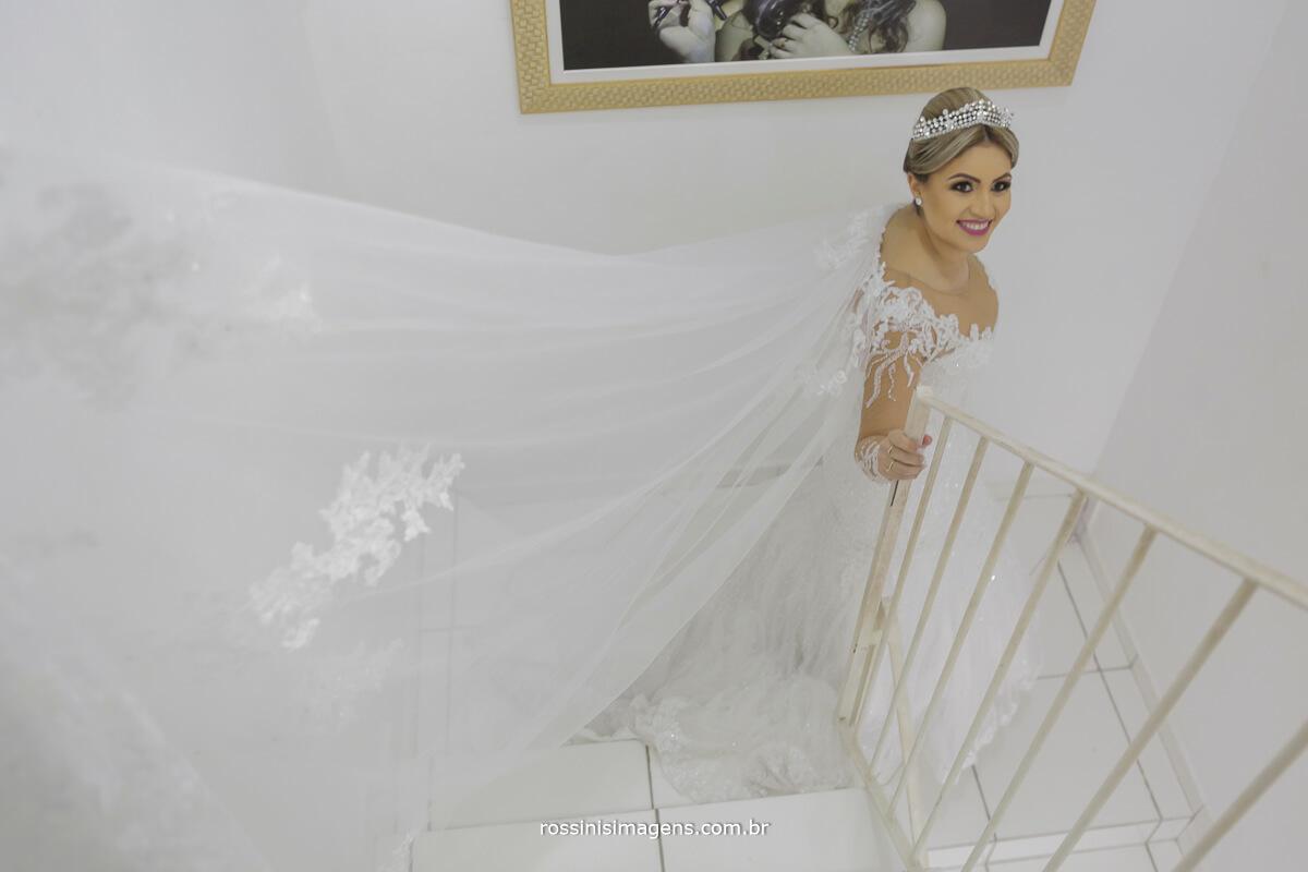 fotografo de casamento em suzano sp rossinis imagens, vestido de noiva, capa de vestido de noiva, vestido com capa, fernanda e paulo