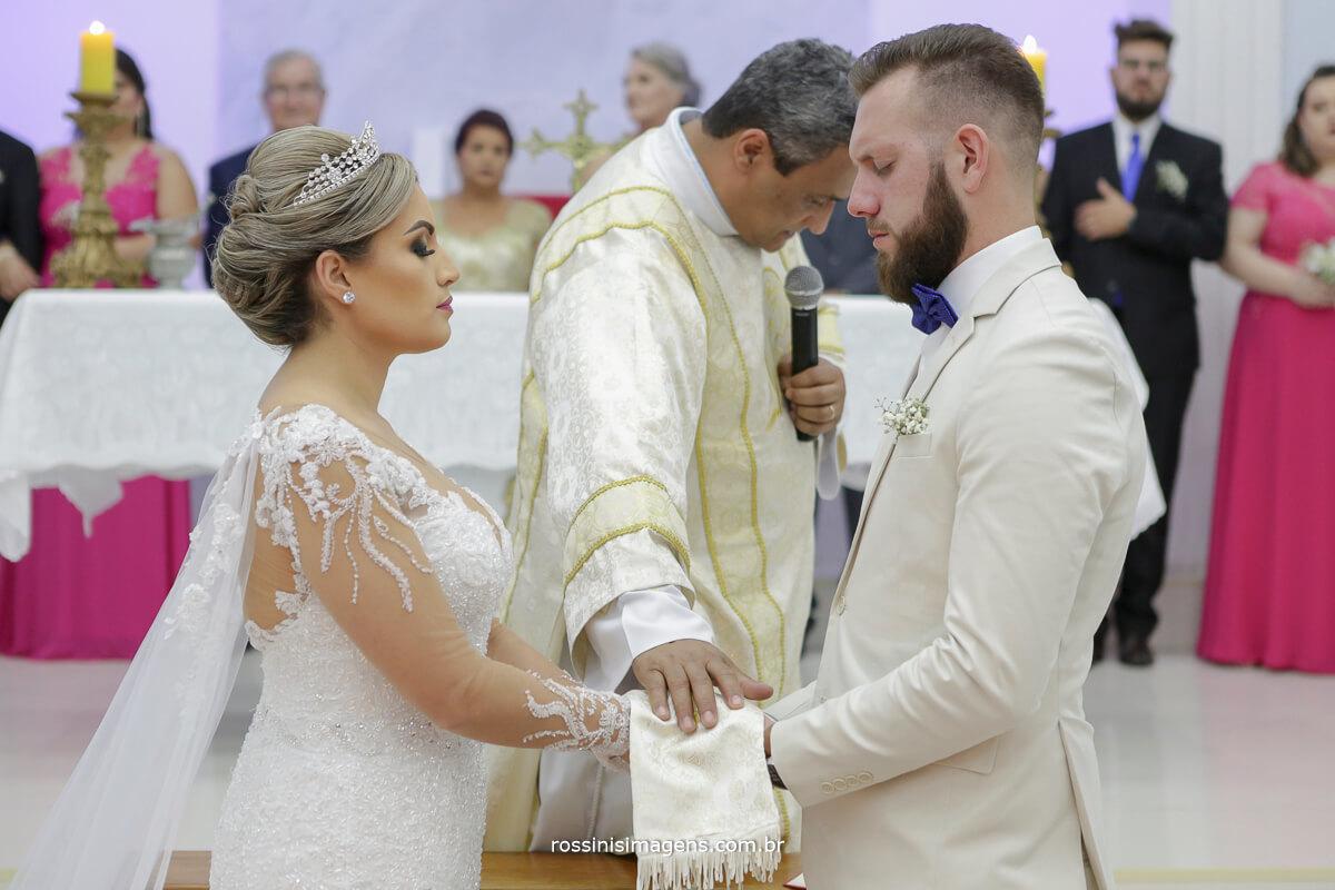 fotografo de casamento em suzano sp rossinis imagens, benção de Deus, casamento na igreja