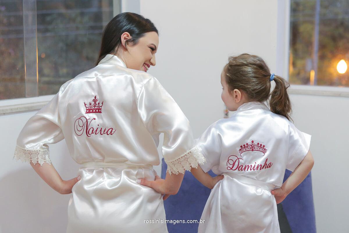 fotografo de casamento em garden fest aruja - sp Rossinis Imagens, making of noiva com daminha