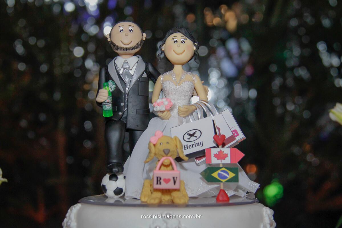 fotografo de casamento no garden fest em aruja-sp Rossinis Imagens, topo do bolo do casamento da veronica e renan