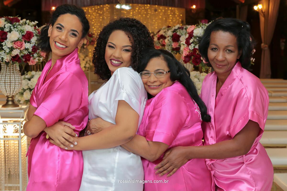 dia da noiva em suzano, madrinhas no making of, rossinis imagens para os melhores momentos e as melhores recordacoes