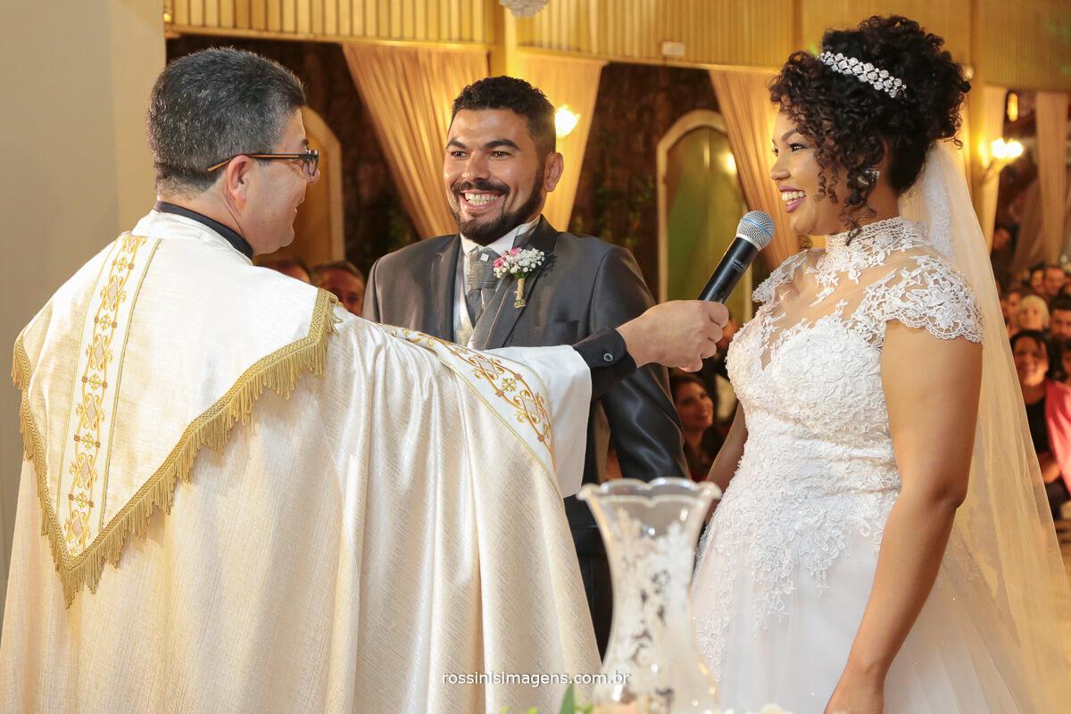 a hora do sim, noiva no momento do sim,
