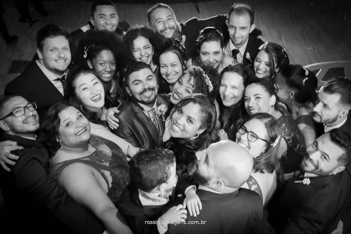 sessao de fotos colevica com os padrinhos e os noivos, rossinis imagens