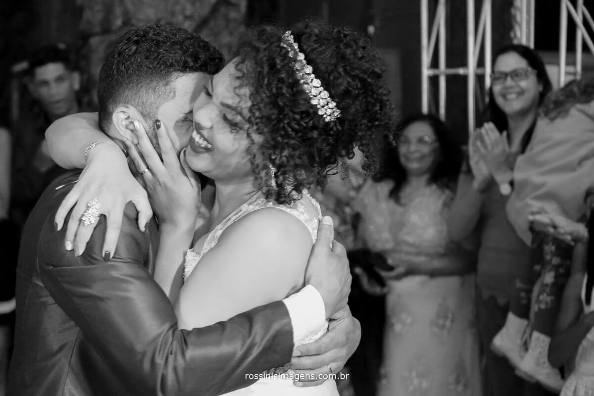 fotografia reflexo da alma, danca dos noivos par abertura da balada